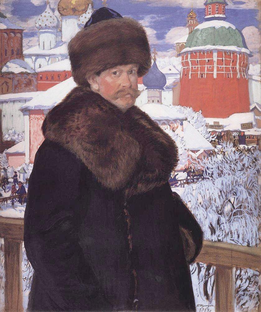 Автопортрет. Галерея Уффици, 1912 г. Источник: Wikimedia Commons