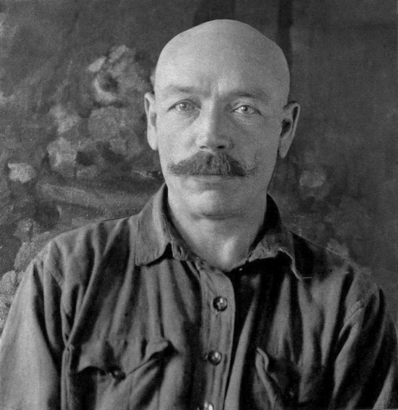 Кузьма Петров-Водкин времен преподавания в Петрограде. Фото: Wikimedia Commons