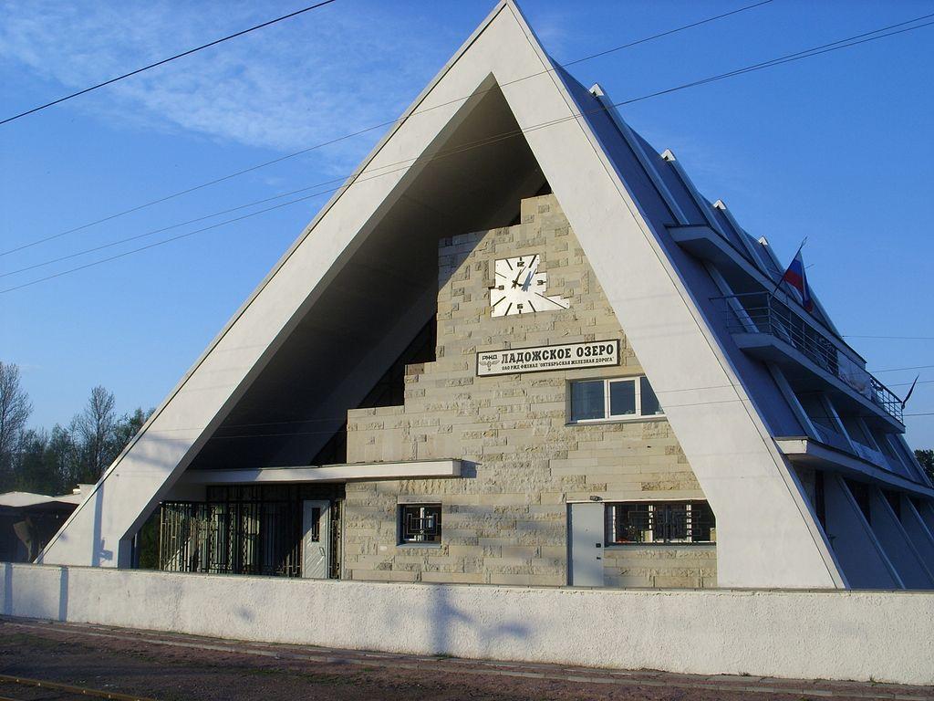 "Станция ""Ладожское озеро"". Фото: Никич"
