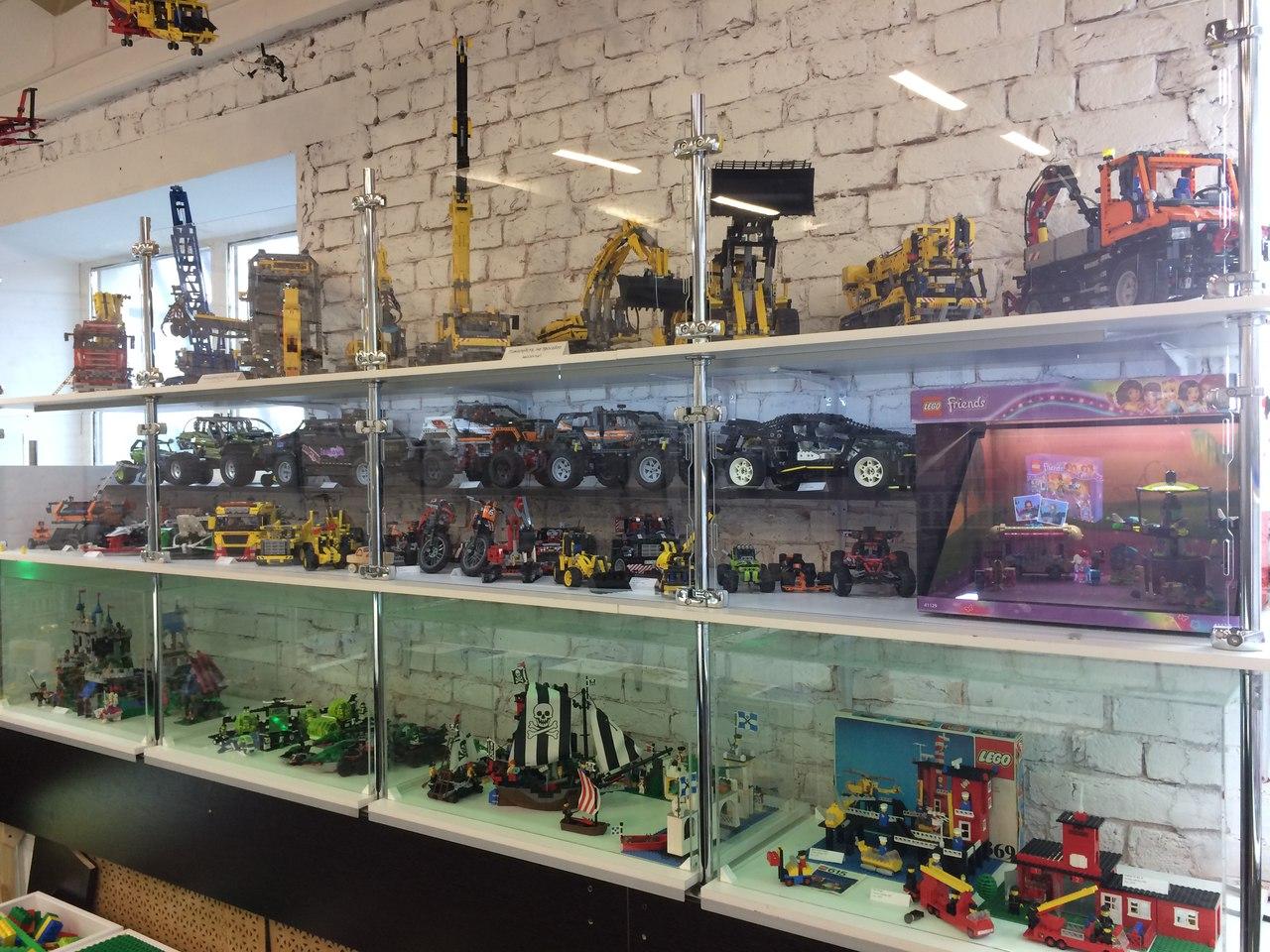 LEGO, ЛЕГО. Выставка - музей GameBrick