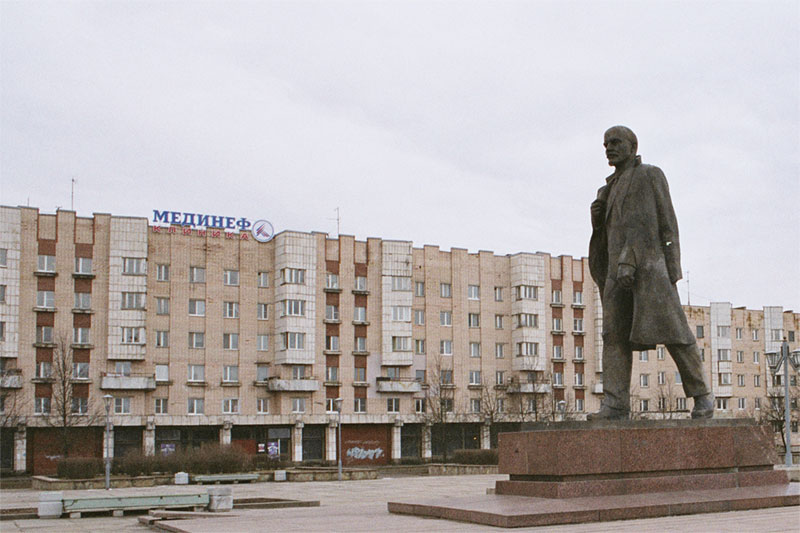 Памятник Ленина. Фото: Konstantin Kč