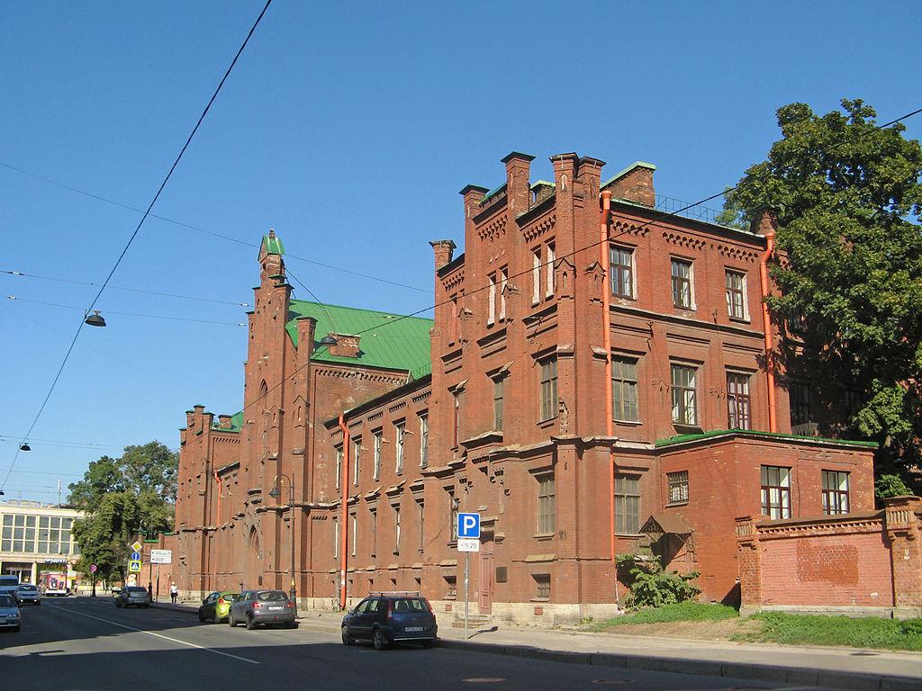 Здание Евангелической женской больницы на Лиговском проспекте.Екатерина Борисова. https://commons.wikimedia.org/