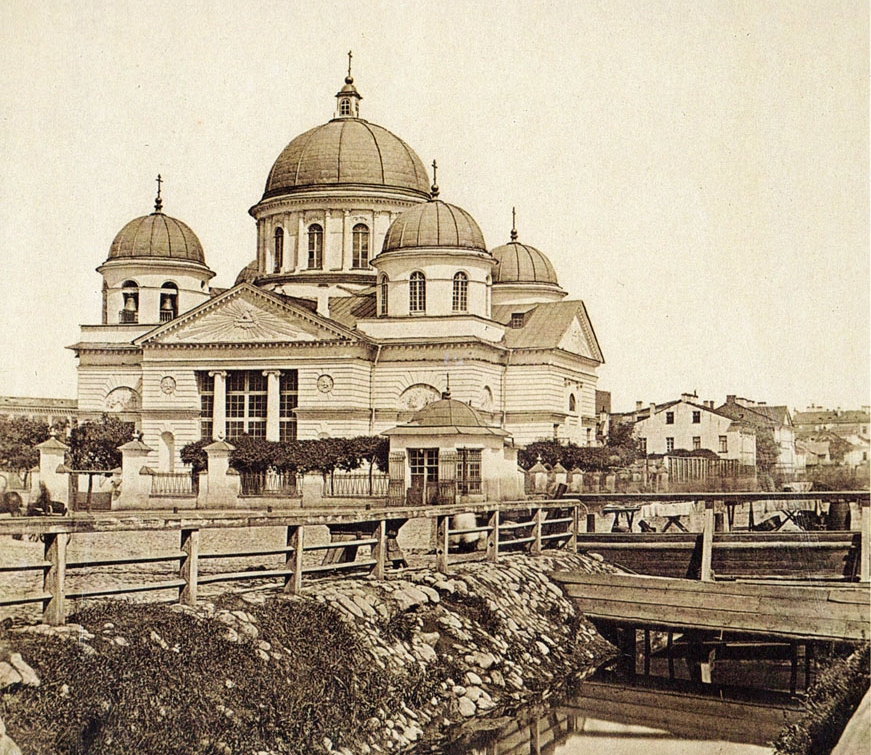 Лиговский канал у Знаменской церкви. Фото 1860-х https://commons.wikimedia.org/