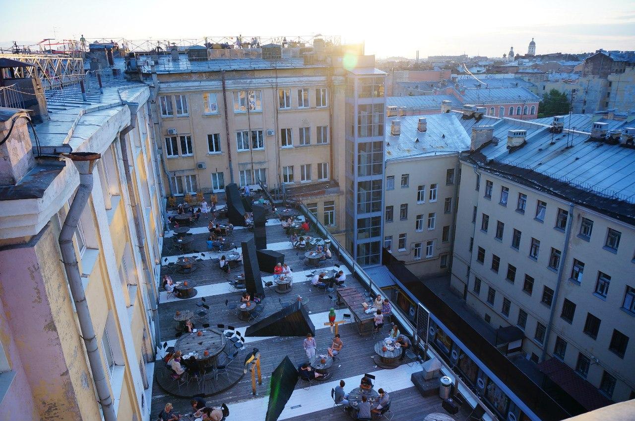 Крыша Лофт Проект ЭТАЖИ. Автор фото: Дима Якимов