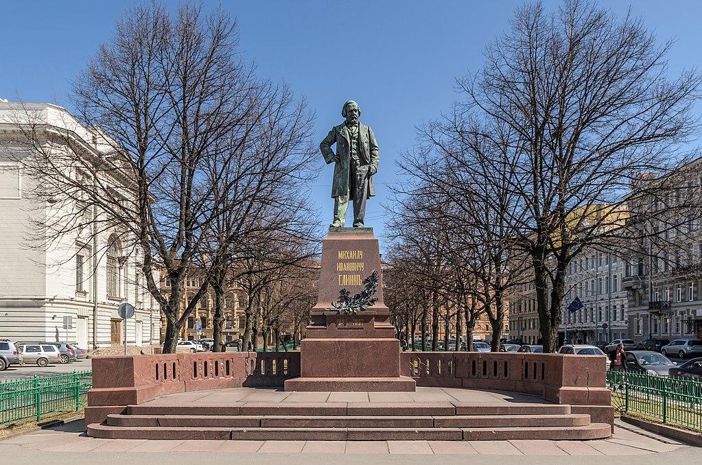 Памятник М. И. Глинке. Фото: Florstein (WikiPhotoSpace)