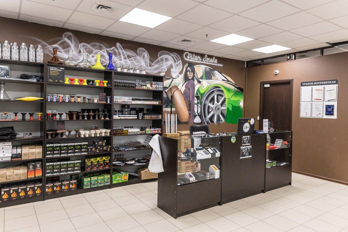 PiterSmoke, магазин товаров для курения в Санкт-Петербурге. Фото: 2gis.ru