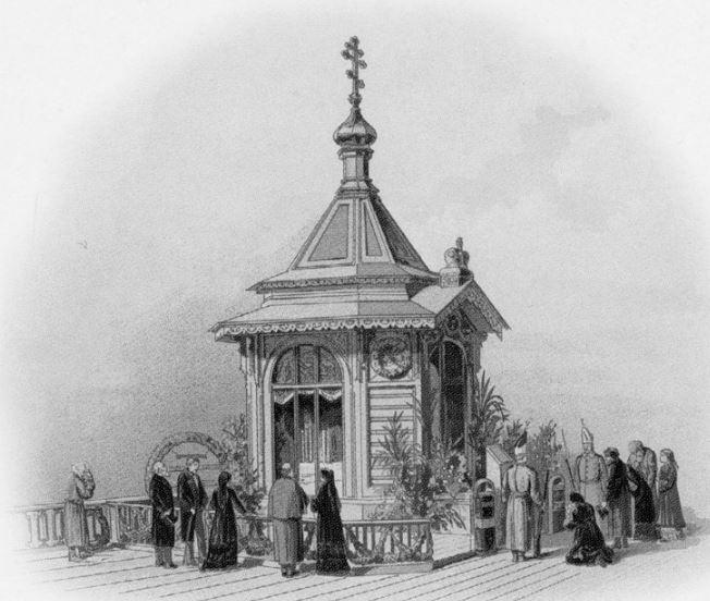 Часовня в Санкт-Петербурге на месте гибели Александра II. Источник: spas-na-krovi.org