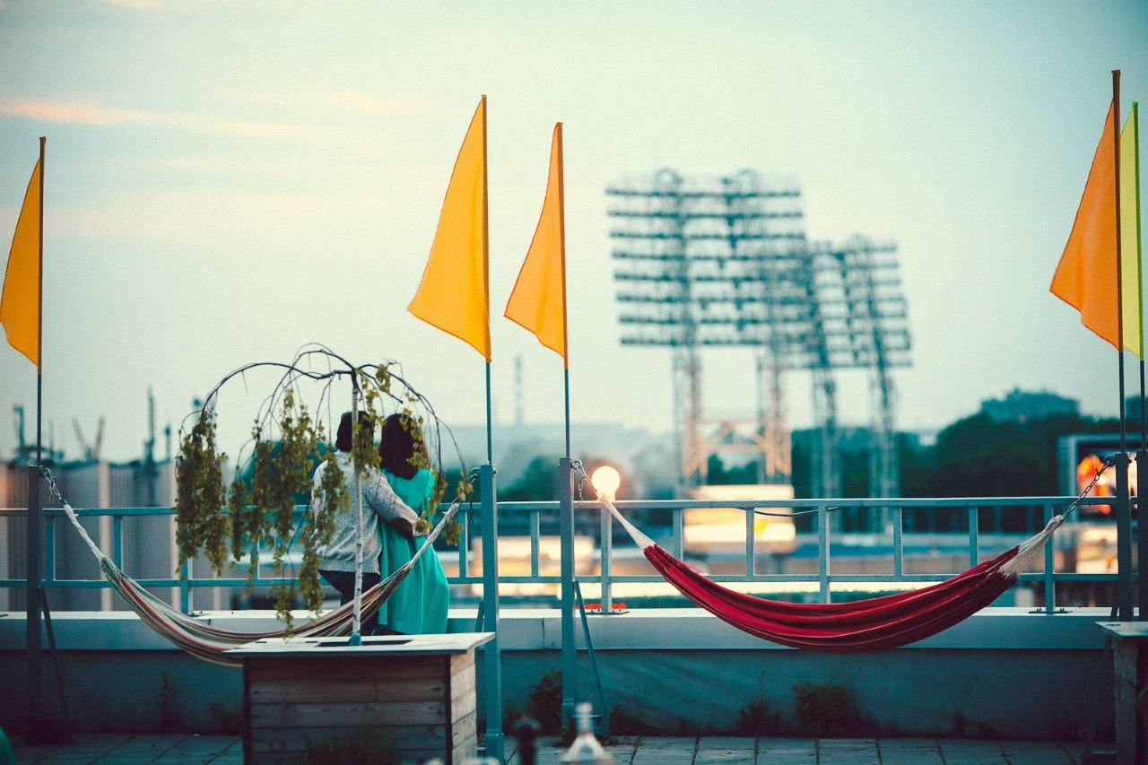 Макаронники — ресторан на крыше