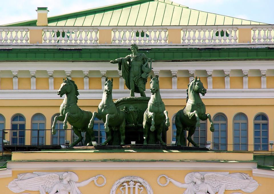 Мариинский театр, источник фото: https://pixabay.com/ru/россия-санкт-петербург-1171263/