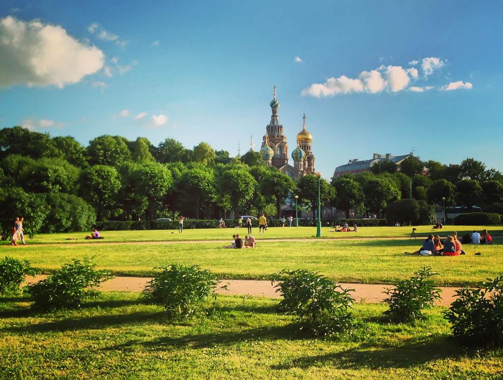 Марсово поле: Центральный район, Санкт-Петербург.