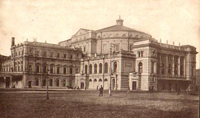 Мариинский театр, 1900 г.