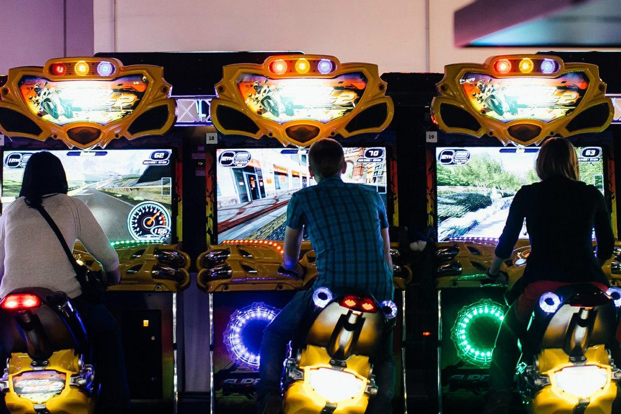 Игровые автоматы. Парк развлечений MazaPark