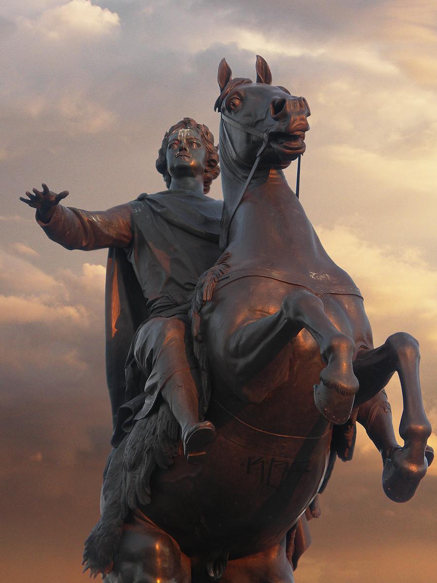 Медный всадник. Григорий Смирнов https://commons.wikimedia.org