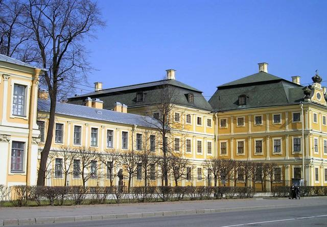 Меншиковский дворец в Петербурге