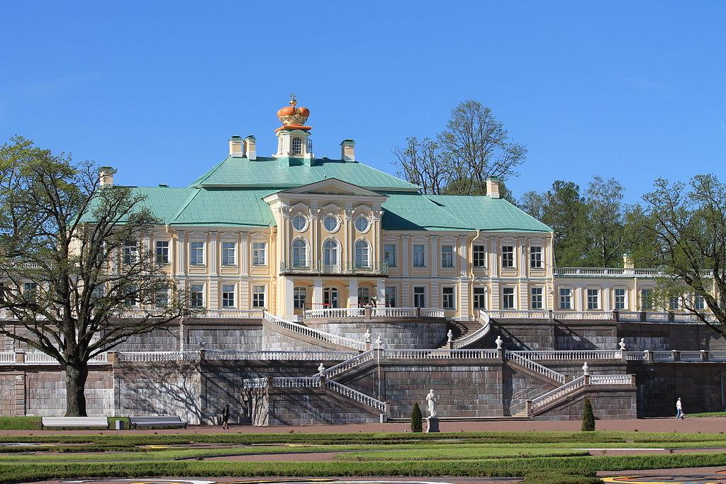 Большой Меншиковский дворец в Ораниенбауме. Создатель фото: Chezenatiko (Wikimedia Commons)