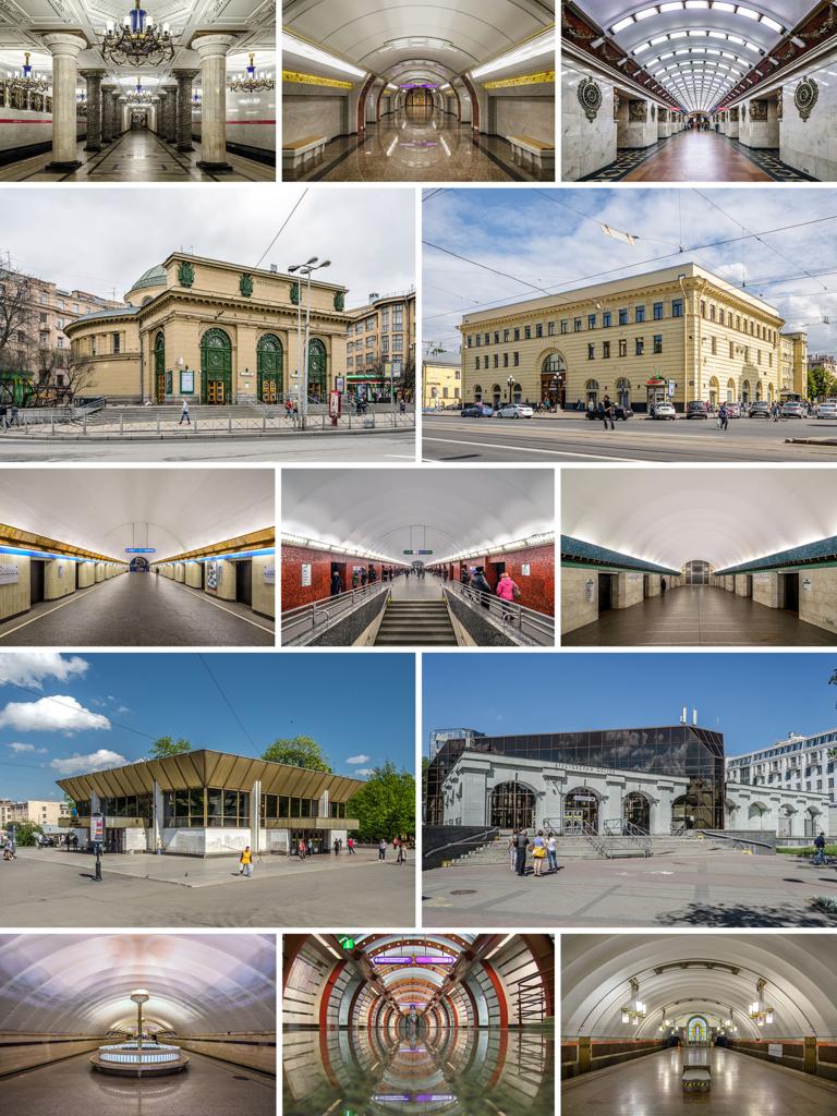 Станции Петербургского метрополитена. Автор фото: Alex Florstein (WikiPhotoSpace)