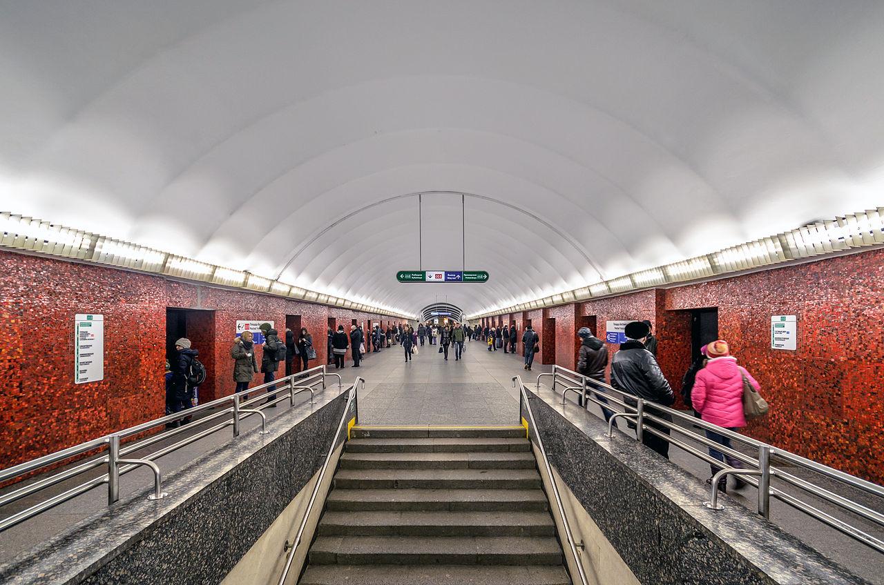 "Станция ""Маяковская"". Автор фото: Florstein (WikiPhotoSpace)"