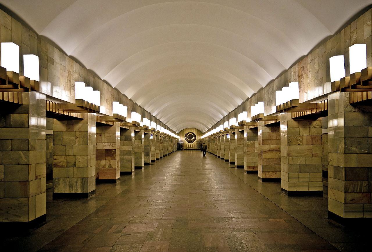 "Станция ""Гражданский проспект"". Автор фото: Florstein (Wikimedia Commons)"