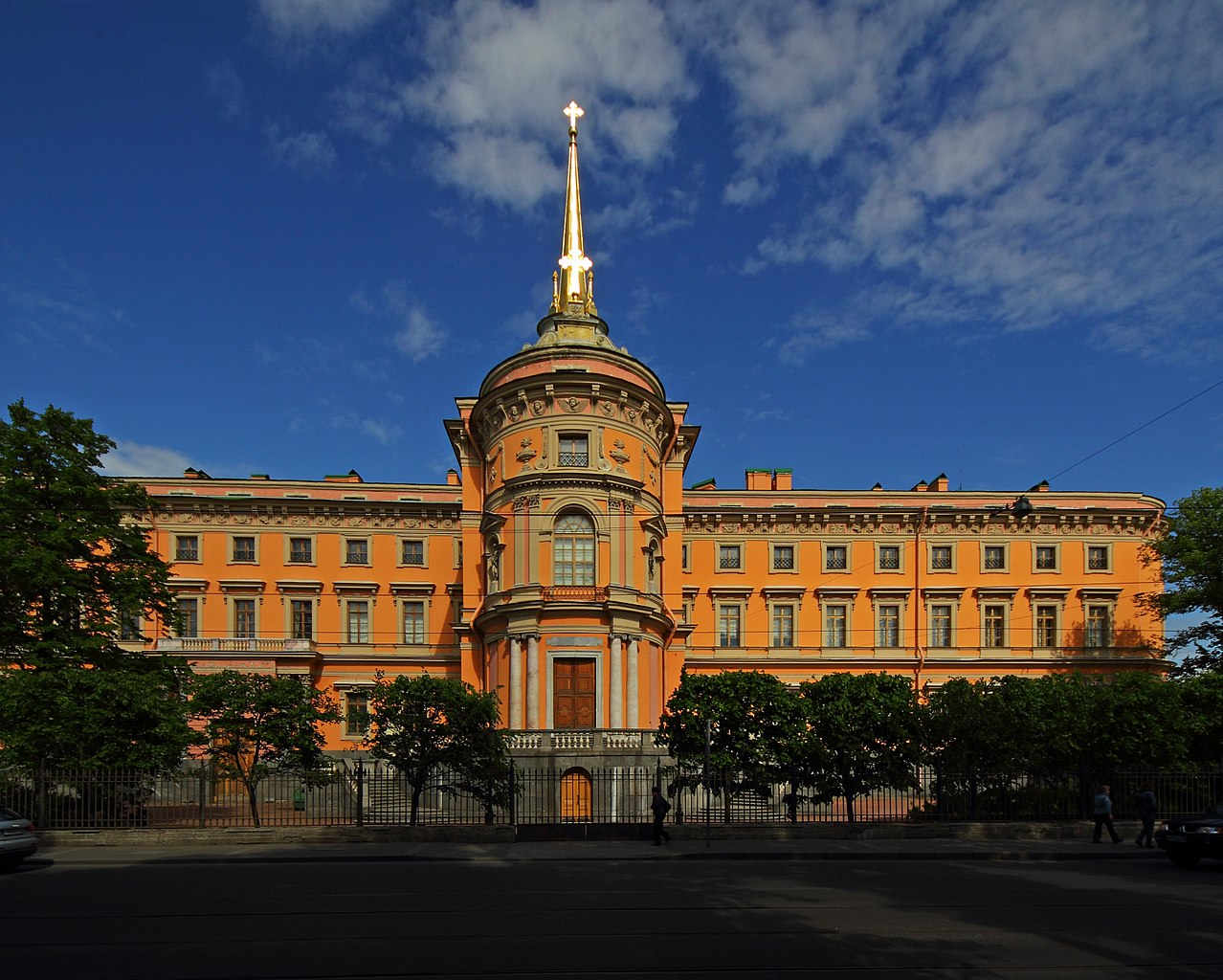 Михайловский (Инженерный) замок, Русский музей. Фото: A.Savin (Wikimedia Commons · WikiPhotoSpace)