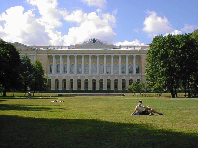 Михайловский сад. Фото: Alexei Troshin (Wikimedia Commons)