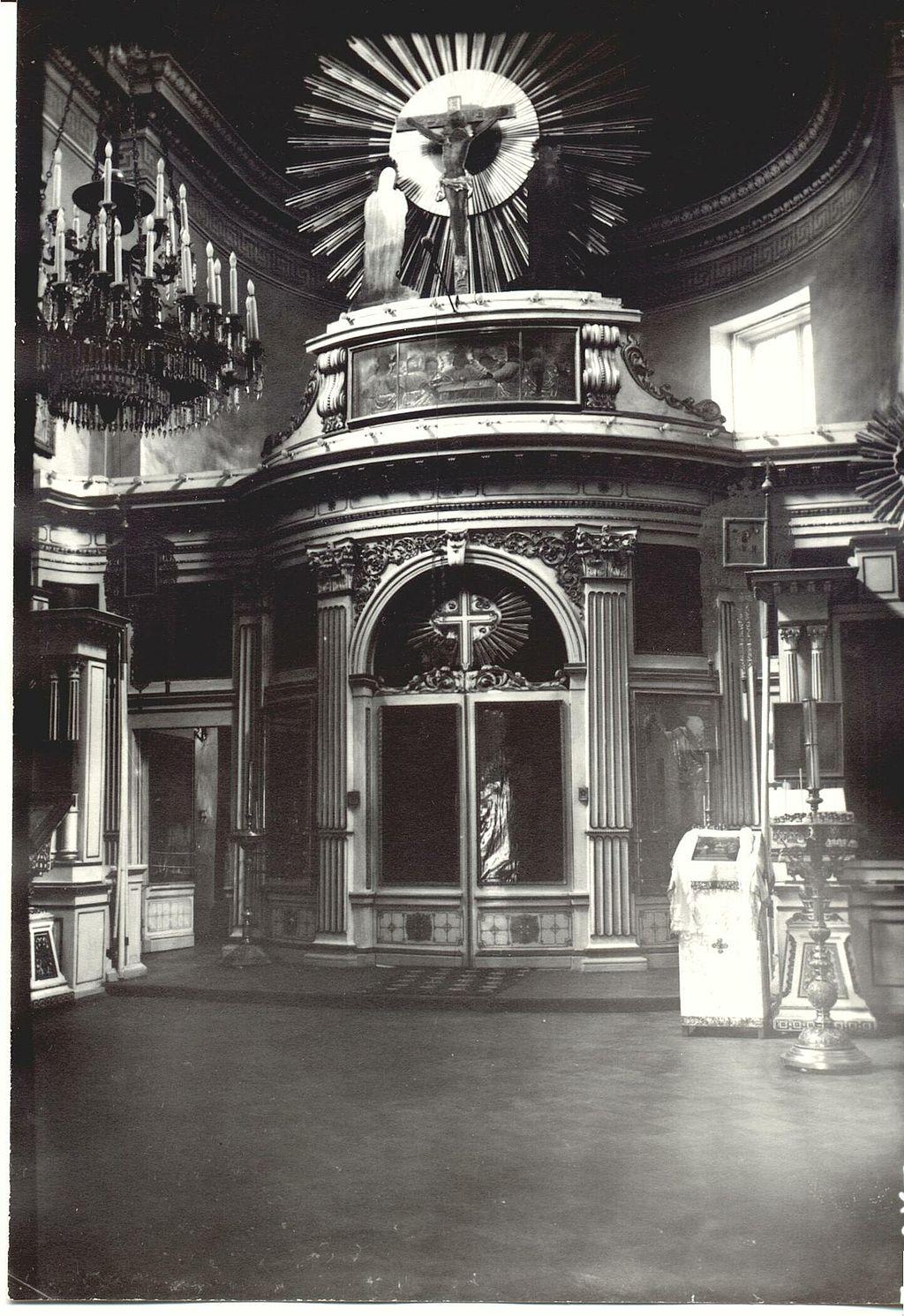 Церковь Святой Марии Магдалины. Фото 1910-х годов. Автор: Peterburg23, Wikimedia Commons