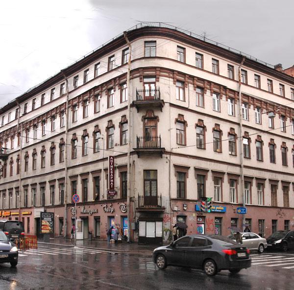 Улица Моховая, 24. Фото:  citywalls.ru