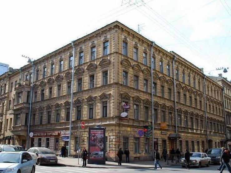 Улица Моховая, 25. Фото:  citywalls.ru