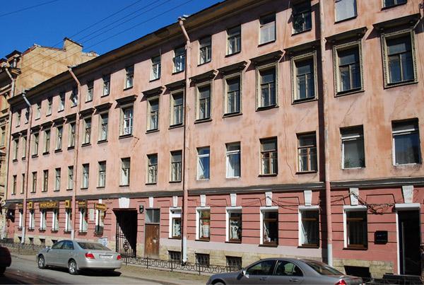 Улица Моховая, 30. Фото:  citywalls.ru