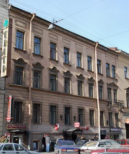 Улица Моховая, 31. Фото:  citywalls.ru