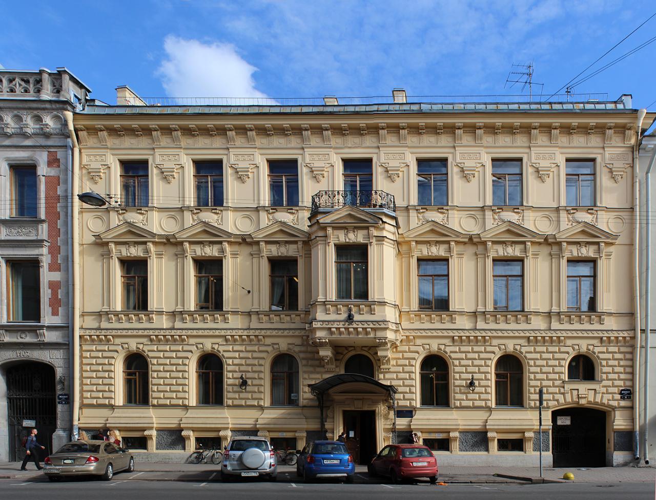 Улица Моховая, 36. Фото:  citywalls.ru
