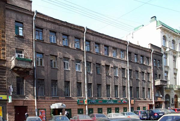 Улица Моховая, 37. Фото:  citywalls.ru