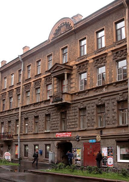 Улица Моховая, 39. Фото:  citywalls.ru