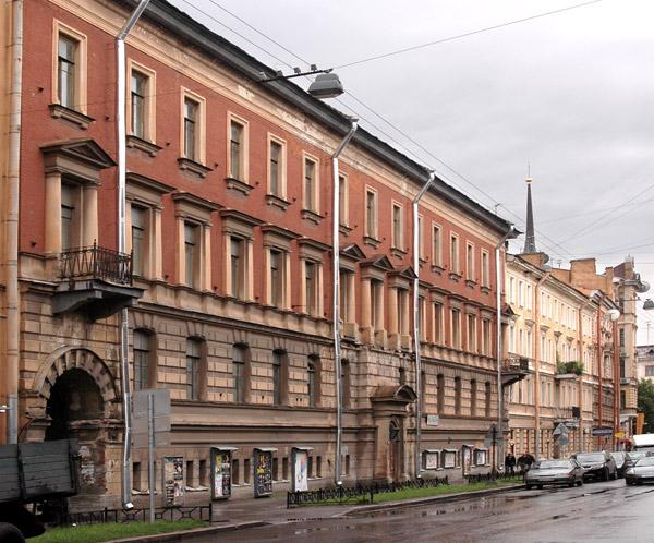 Улица Моховая, 40. Фото:  citywalls.ru