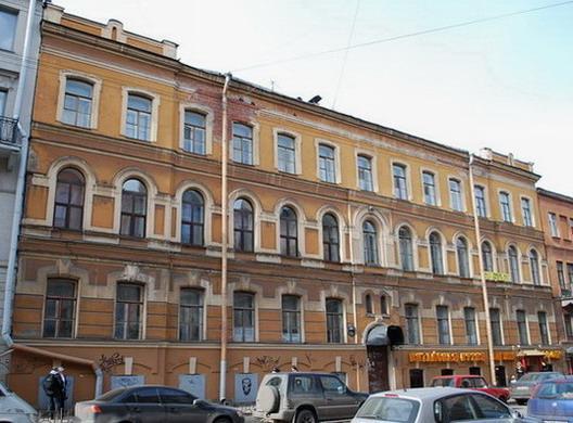 Улица Моховая, 43. Фото:  citywalls.ru