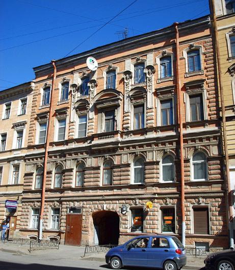 Улица Моховая, 44. Фото:  citywalls.ru
