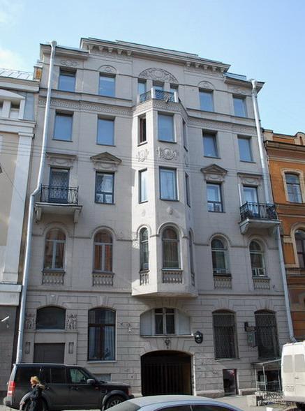 Улица Моховая, 45. Фото:  citywalls.ru