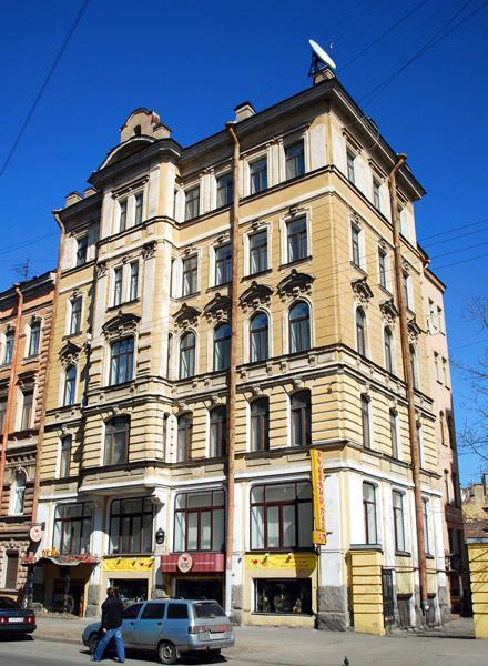 Улица Моховая, 46. Фото:  citywalls.ru