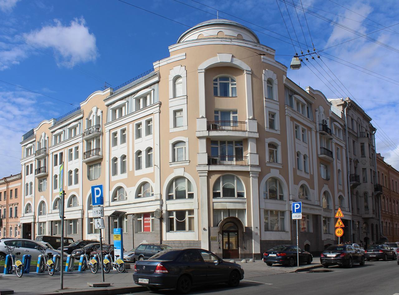 Улица Моховая, 47. Фото:  citywalls.ru