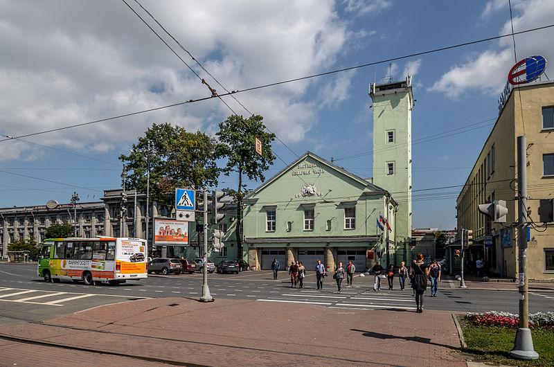 Пожарная часть Московской заставы, источник фото: Wikimedia Commons, Автор: Florstein