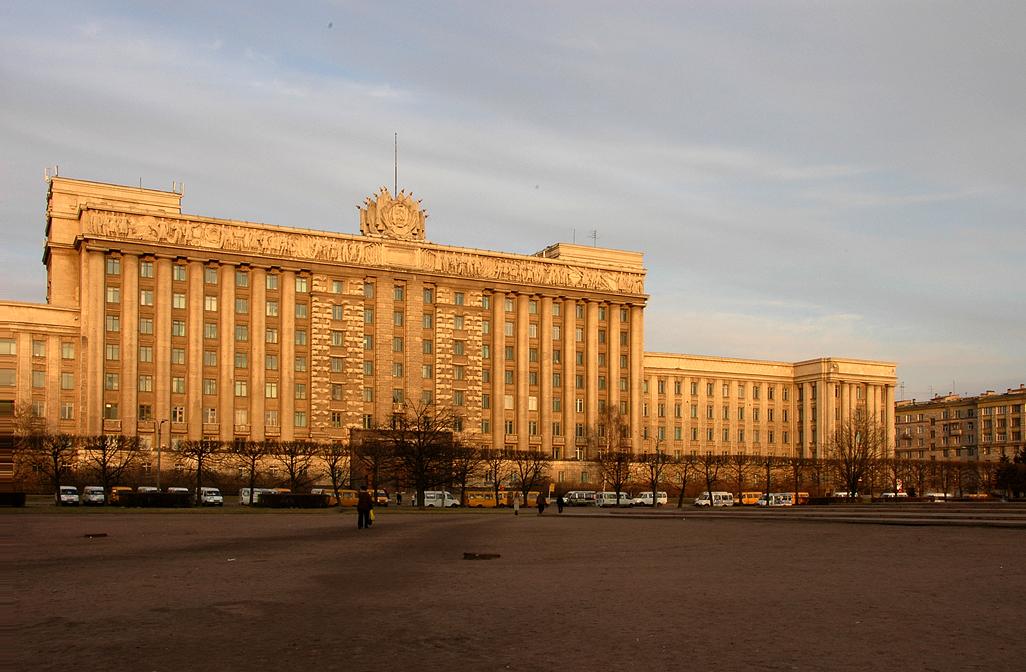 Московская площадь до реконструкции 2005, источник фото: Википедия — свободная энциклопедия, Автор: Михаил Медвинский