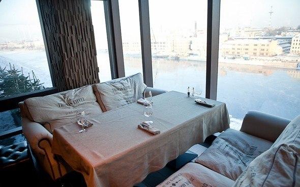 Ресторан коктейль-бар Москва Сity