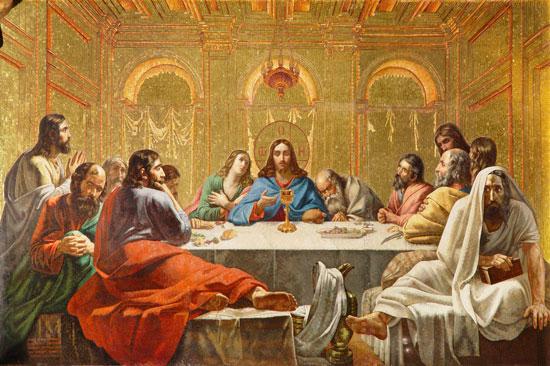 "Мозаика Исаакия - ""Тайная вечеря"", источник фото: http://www.isaac.spb.ru/isaac/ubranstvo/mosaic"