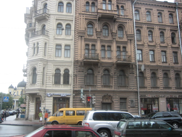 Дом Мурузи в Санкт-Петербурге, где жил поэт. Фото: Lkitrossky (Wikimedia Commons)