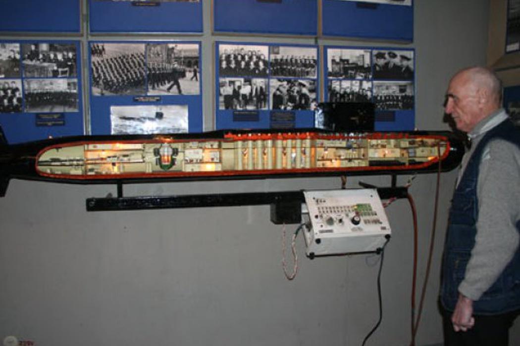 Музей истории подводного флота, источник фото: