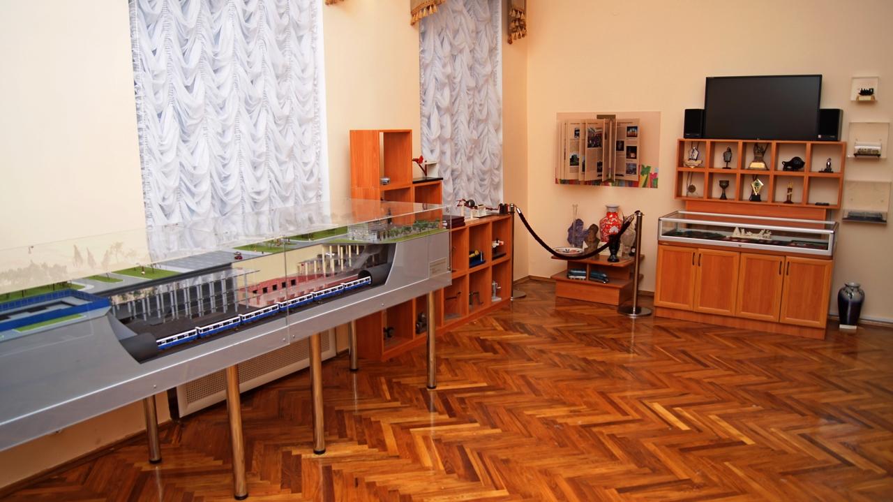 Музей Санкт-Петербургского Государственного Университета Путей Сообщения, источник фото: http://www.pgups.ru/struct/muzey_pgups/