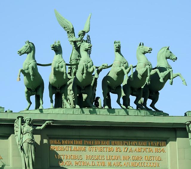 Нарвские триумфальные ворота, автор Hellopiter.ru