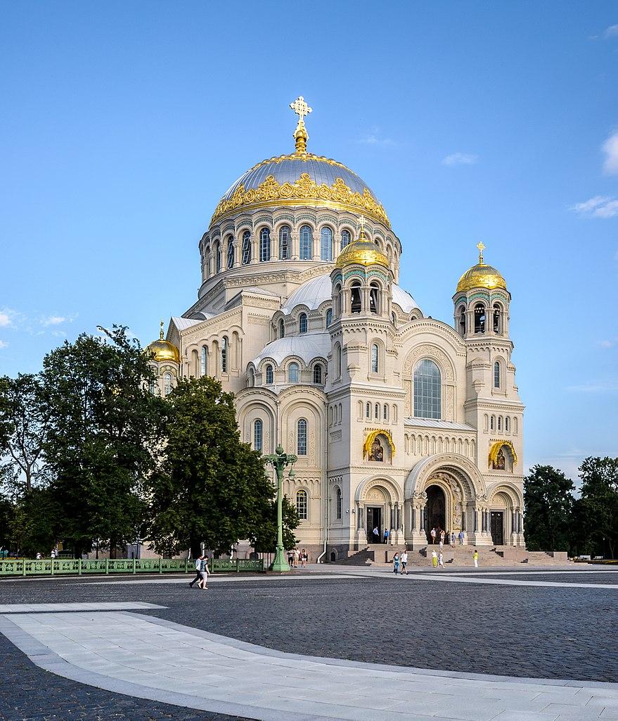 Морской Никольский собор. Август 2014 г. Фото: Florstein (WikiPhotoSpace)