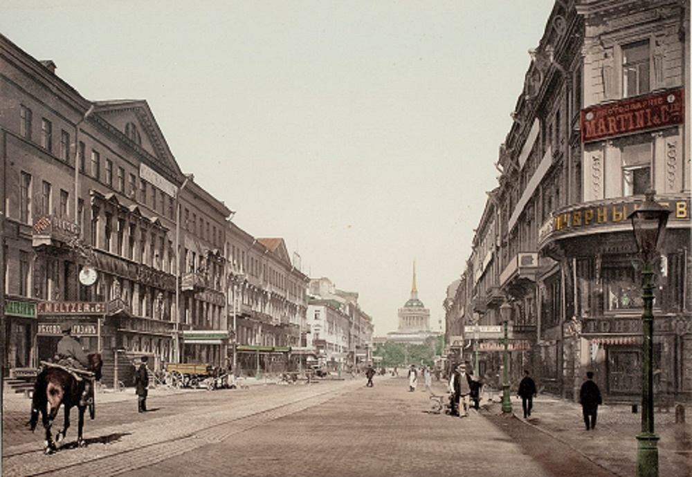 Невский проспект, 1910 г.