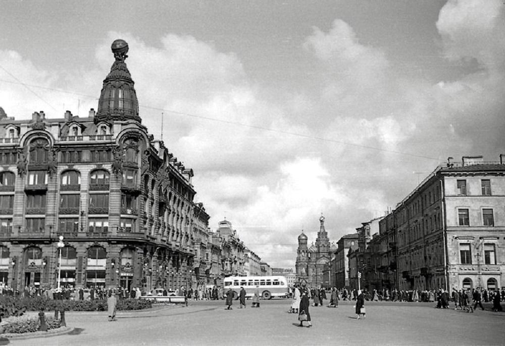 Невский проспект, 1950-е гг.