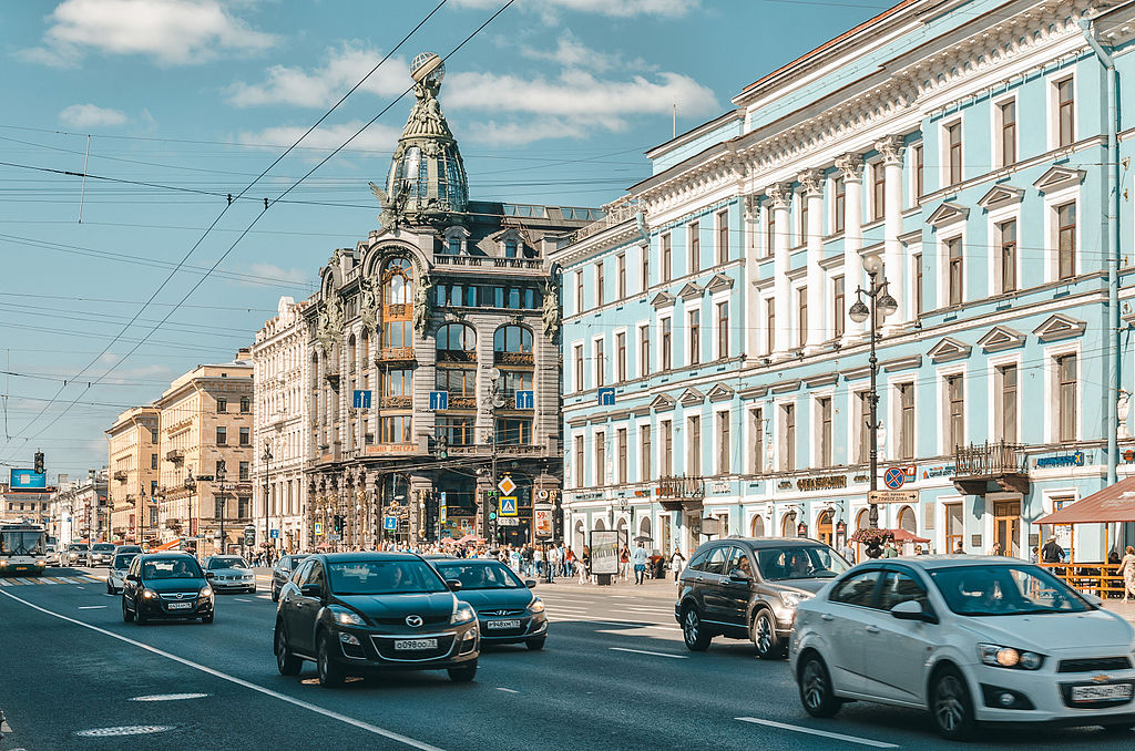 Невский проспект. Фото: Skif-Kerch